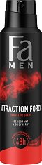 Fa Men Attraction Force Deodorant & Body Spray - продукт