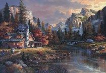 Дом в долината - Джеймс Лий (James Lee) - пъзел