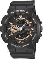 """Часовник Casio - G-Shock GA-110RG-1AER - От серията """"G-Shock"""""""