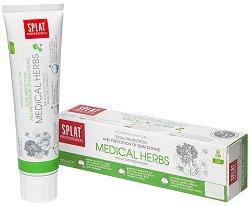 """Splat Professional Medical Herbs Toothpaste - Паста за зъби с билки против пародонтоза от серията """"Professional"""" - продукт"""