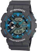 """Часовник Casio - G-Shock GA-110TS-8A2ER - От серията """"G-Shock"""""""