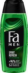 Fa Men Xtreme Sports Body & Hair Shower Gel -