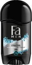 """Fa Men Xtreme Cool Anti-Perspirant Stick - Стик дезодорант против изпотяване за мъже от серията """"Fa Men Xtreme"""" -"""