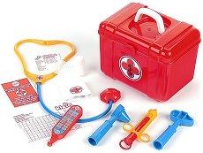 Детско лекарско куфарче с инструменти - количка