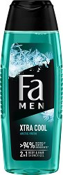 Fa Xtra Cool Body & Hair Shower Gel - душ гел