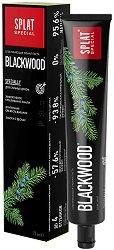 """Splat Special Blackwood Toothpaste - Черна паста за зъби с избелващ ефект от серията """"Special"""" - крем"""