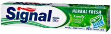 Signal Herbal Fresh - Паста за зъби с билкови екстракти - лосион