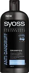 Syoss Anti-Dandruff Shampoo - Шампоан против пърхот за всеки тип коса с цинк пиритион - ролон