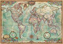 Политическа карта на света - пъзел