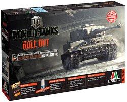 """Танк - Pz.Kpfw. VI Tiger - Сглобяем модел от серията """"World of Tanks: Roll Out"""" - макет"""