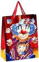 Торбичка за подарък - Клоун - С карнавална маска - играчка