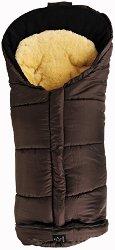 Бебешко термо-чувалче с подложка от овча кожа - Sheepy: Brown -