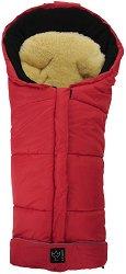 Бебешко термо-чувалче с подложка от овча кожа - Sheepy: Red -