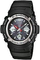 "Часовник Casio - G-Shock Wave Ceptor Solar AWG-M100-1AER - От серията ""G-Shock: Wave Ceptor Solar"""