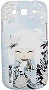 """Калъф за телефон Miyuna - Елегантност - Аксесоар за Samsung Galaxy S3 от серията """"Kimmidoll"""" -"""