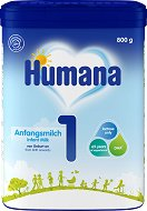 Мляко за кърмачета - Humana 1 - Опаковки от 300 и 800 g за бебета от 0 до 6 месеца - продукт