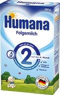 Преходно мляко: Humana 2 - Опаковки от 300 и 800 g за бебета от 6 до 10 месеца - продукт