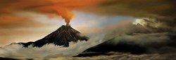 "Вулкан - панорама - Колекция ""Александър Фон Хумболт"" (Alexander von Humboldt) - пъзел"