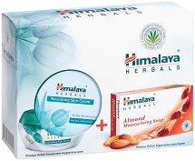 Himalaya Soft Skin - Подаръчен комплект с крем за лице и сапун - дезодорант