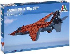 """Военен самолет - Jaguar GR.3 """"Big Cat"""" - Сглобяем авиомодел -"""