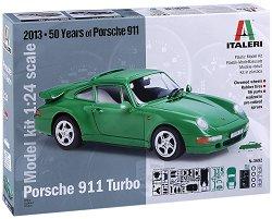 Автомобил - Porsche 911 Turbo - Сглобяем модел -