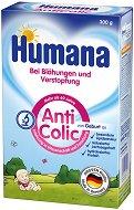 Мляко за кърмачета със склонност към подуване, колики и констипация - Humana AntiColic - Опаковка от 300 g за бебета от 0+ месеца - продукт