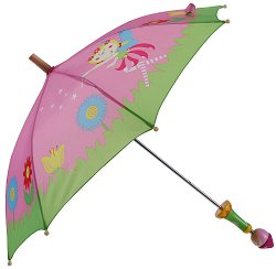 Детски чадър - Фея - количка