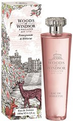 Woods of Windsor Pomegranate and Hibiscus EDT - Дамски парфюм -