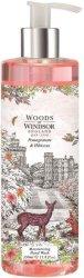 """Woods of Windsor Pomegranate & Hibiscus Moisturizing Hand Wash - Хидратиращ течен сапун от серията """"Pomegranate and Hibiscus"""" -"""