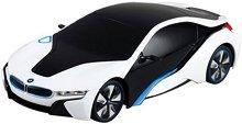 Автомобил - BMW i8 - Количка с дистанционно управление - творчески комплект