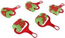 Валячета - Коледни мотиви - Комплект от 5 броя