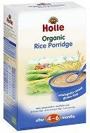 Инстантна био безмлечна каша - Ориз - Опаковка от 250 g за бебета над 4 месеца - залъгалка