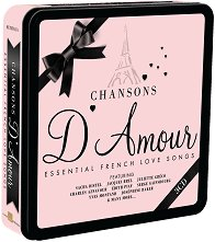Chansons D'Amour - Essential French Love Songs - Комплект от 3 диска в метална кутия -