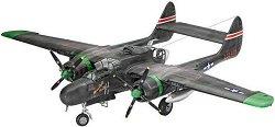 Военен самолет - Northrop P-61A/B Black Widow - Сглобяем авиомодел -