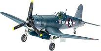 Военен самолет - Vought F4U-1D Corsair - Сглобяем авиомодел - макет