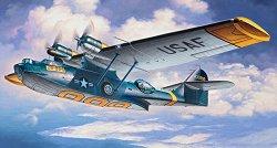 Военен самолет - Consolidated PBY-5A Catalina - Сглобяем авиомодел -