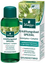 Докторско масло за вана при настинка - С натурални етерични масла от евкалипт и камфор - душ гел