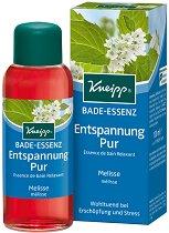 Олио за вана - Успокояваща маточина - С натурално етерично масло от индийска маточина и екстракт от лимонена трева - продукт