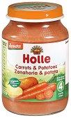 Пюре от био моркови и картофи - Бурканче от 190 g за бебета над 4 месеца - продукт
