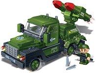 """Ракетоносител - Детски конструктор от серията """"BanBao Defence Force"""" - несесер"""