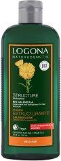 Logona Structure Shampoo Bio Calendula - Реструктуиращ шампоан за тънка коса с био невен -