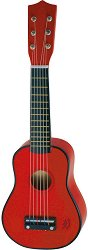 Дървена китара - Детски музикален инструмент -