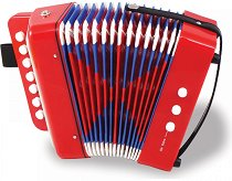Акордеон - Детски музикален инструмент - играчка