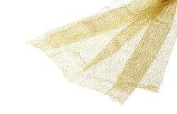 Текстилна мрежа - златиста - Размери 80 x 170 cm