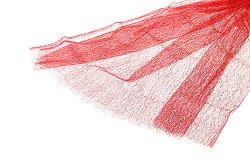 Текстилна мрежа - червена - Размери 80 x 170 cm