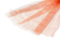 Текстилна мрежа - оражнева
