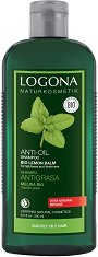 Logona Anti-Oil Shampoo Bio Lemon Balm - Шампоан за мазна коса с био екстракт от маточина - нокторезачка