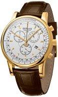 Часовник KronSegler - Dr. House Pulsometer KS 785 Gold White