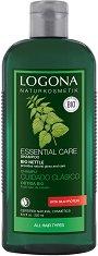 Logona Essential Care Shampoo Bio Nettle - Шампоан за всеки тип коса с био коприва в разфасовки от 250 ÷ 500 ml -