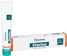 Himalaya Clarina Anti Acne Cream - Крем за лице против акне и розацея - мляко за тяло